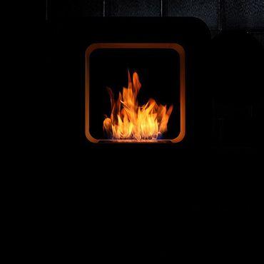 Safretti Ethanolkamin Curva XL weiss – Bild 2