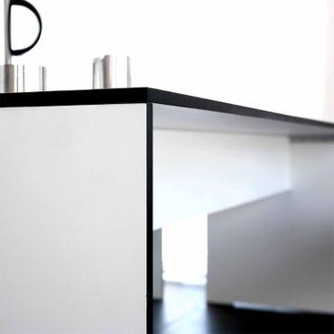 Conmoto Riva - Kombi L / 220 - Tisch und 2 Bänke weiss (ohne Auflagen) – Bild 4