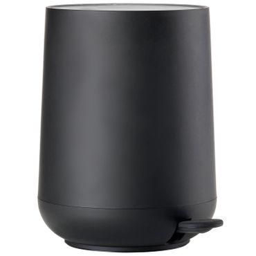 Zone Pedaleimer Nova schwarz 3 Liter Treteimer Höhe 23,5 cm