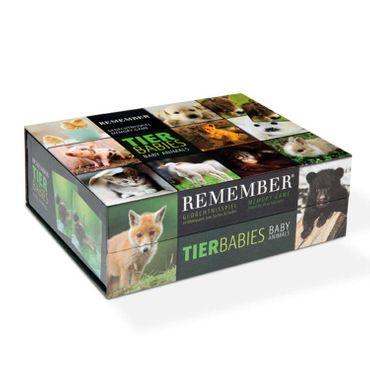 Remember Remember 44 Tierbabies in der Magnetbox Gedächtnisspiel