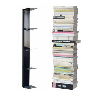 Radius Booksbaum Wandregal schwarz 2 klein