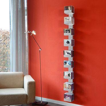 Radius CD-Baum Regal silber Wand 2 groß 727 C – Bild 1