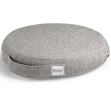 Vluv Pil+Ped Balancekissen aus PVC mit Bezug Stov Concrete D 36 cm