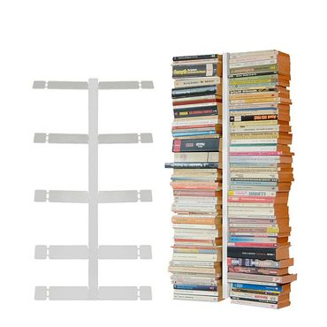 Radius Booksbaum Wandregal weiss 1 klein - 720 b