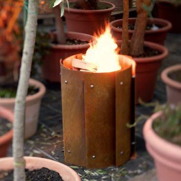 Wodkte Feuerstelle BRONX