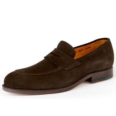 Prime Shoes Schuh Imola espresso Ledersohle feines Kalbsleder