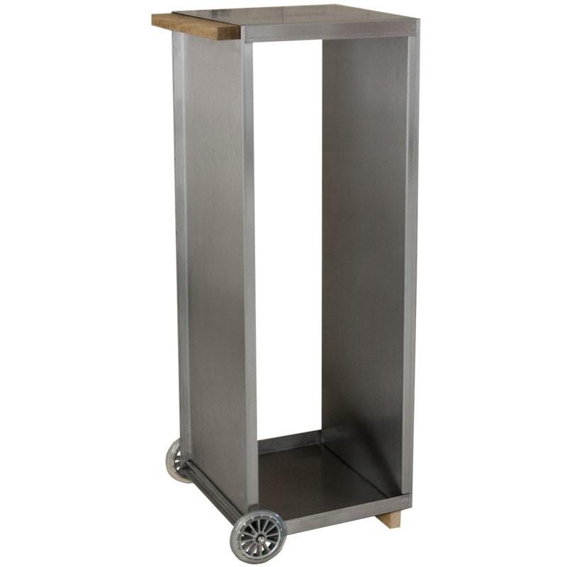 radius kaminholzwagen edelstahl 470 a feuer grill. Black Bedroom Furniture Sets. Home Design Ideas