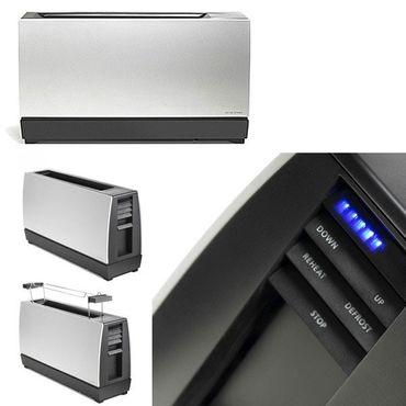 Jacob Jensen One Slot Toaster II aus Aluminium silber  32062 – Bild 3