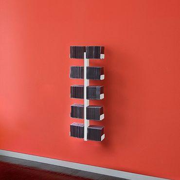 Radius CD-Baum Regal weiss Wand 1 klein 722 B – Bild 1