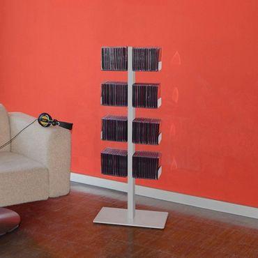 Radius CD-Baum Regal silber Stand 1 klein 718 C – Bild 1