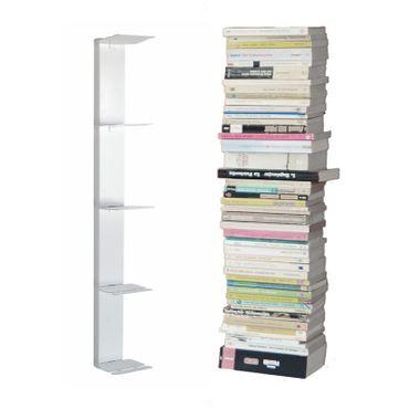 Radius Booksbaum II Wandregal weiss klein - 724 b