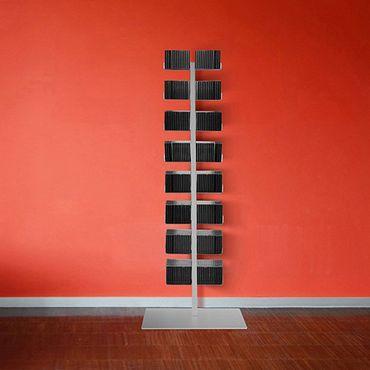 Radius CD-Baum Regal silber Stand 1 groß 719 C – Bild 1