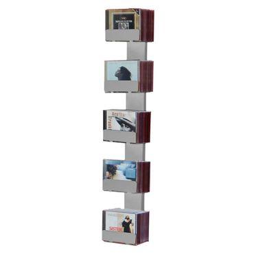 Radius CD-Baum Regal silber Wand 2 klein 726 C