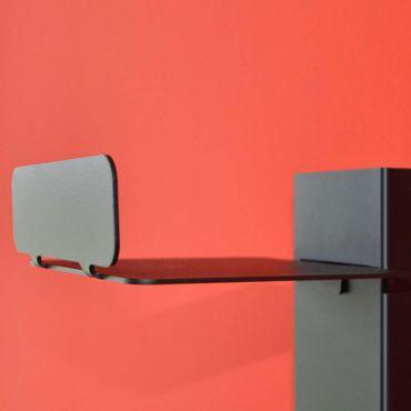 Radius CD-Baum Regal weiss Wand 2 groß 727 B – Bild 3